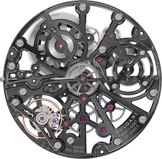 La Cote des Montres : La montre Bulgari Octo Finissimo Squelette - Spectaculaire, voluptueuse et pleine de tempérament
