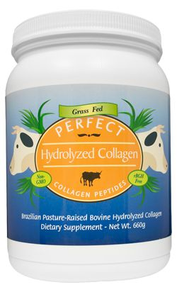 Perfect Hydrolyzed Collagen has such a low molecular weight that it is over 90% Bioavailable and instantly dissolves in any liquid – hot or cold.