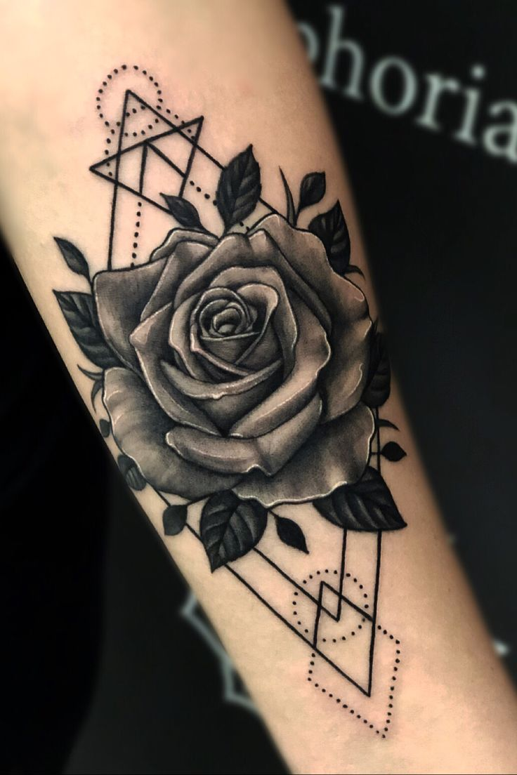 Rose design , Lets Create your custom tattoo. Kevin