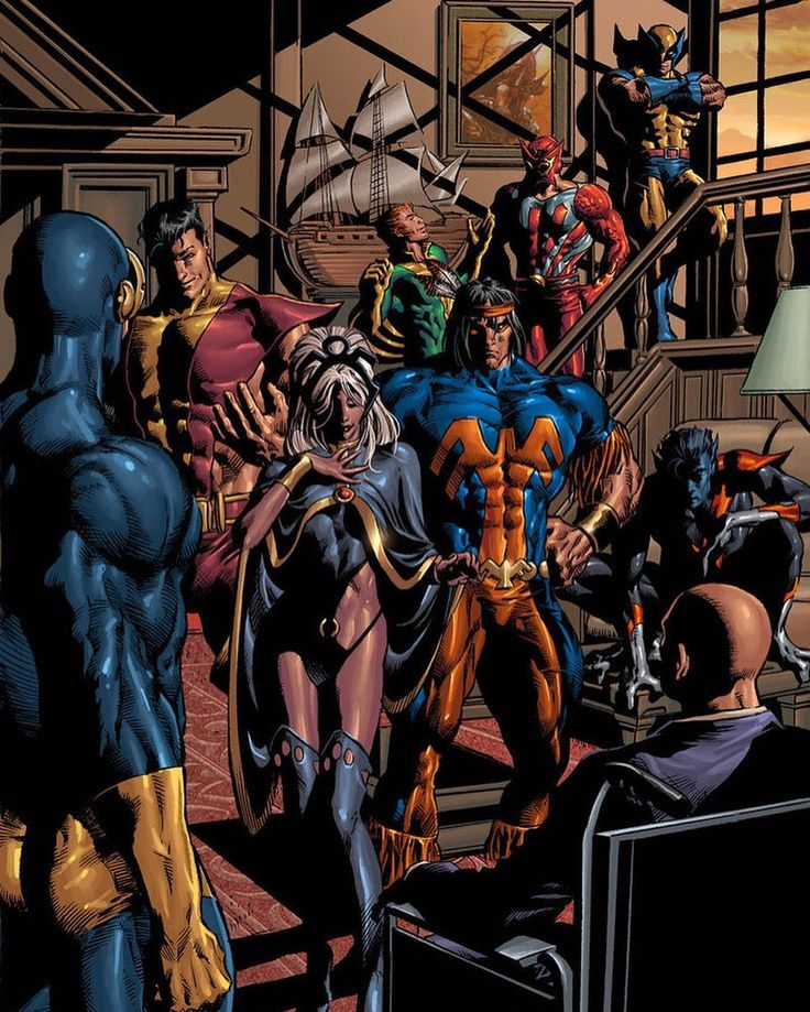Who do you call to recreate an iconic panel drawn by the amazing artist Dave Cockrum You call the equally talented @mikedeodato