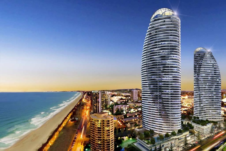 Broadbeach, Gold Coast. Great place for a night out or to find a great restaurant