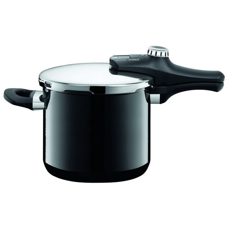 Szybkowar Econtrol Black 6,5l - SILIT - DECO Salon #pressurecooker #cooking #kitchenaccessories
