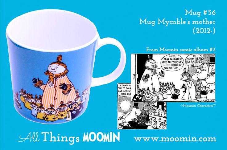 Moomin mug #56 Mymble's mother by Arabia - Moomin.com : Moomin.com