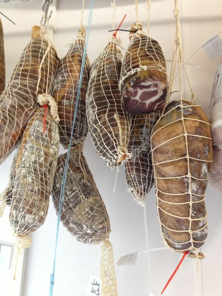 British charcuterie. This is our 3 month hung Topsham Coppa.