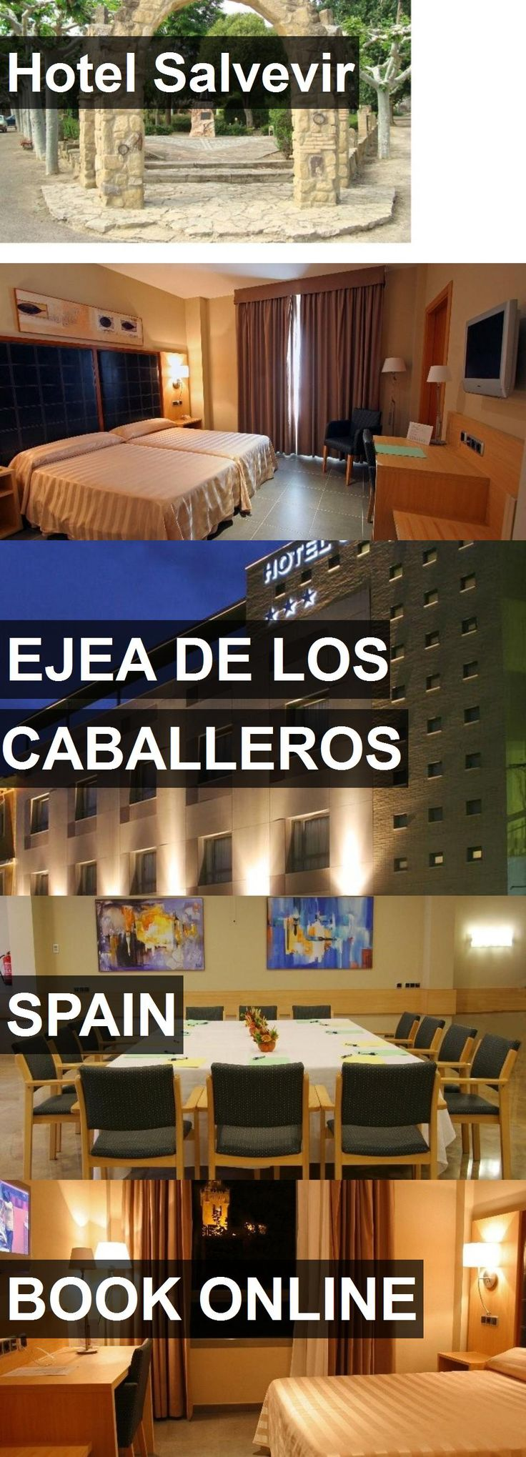 Hotel Hotel Salvevir in Ejea de los Caballeros, Spain. For more information, photos, reviews and best prices please follow the link. #Spain #EjeadelosCaballeros #HotelSalvevir #hotel #travel #vacation