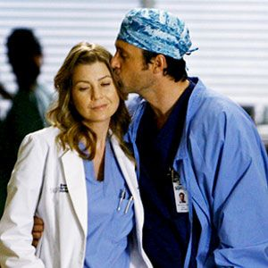 Greys Anatomy-they go down as one of my favorite couples. :)