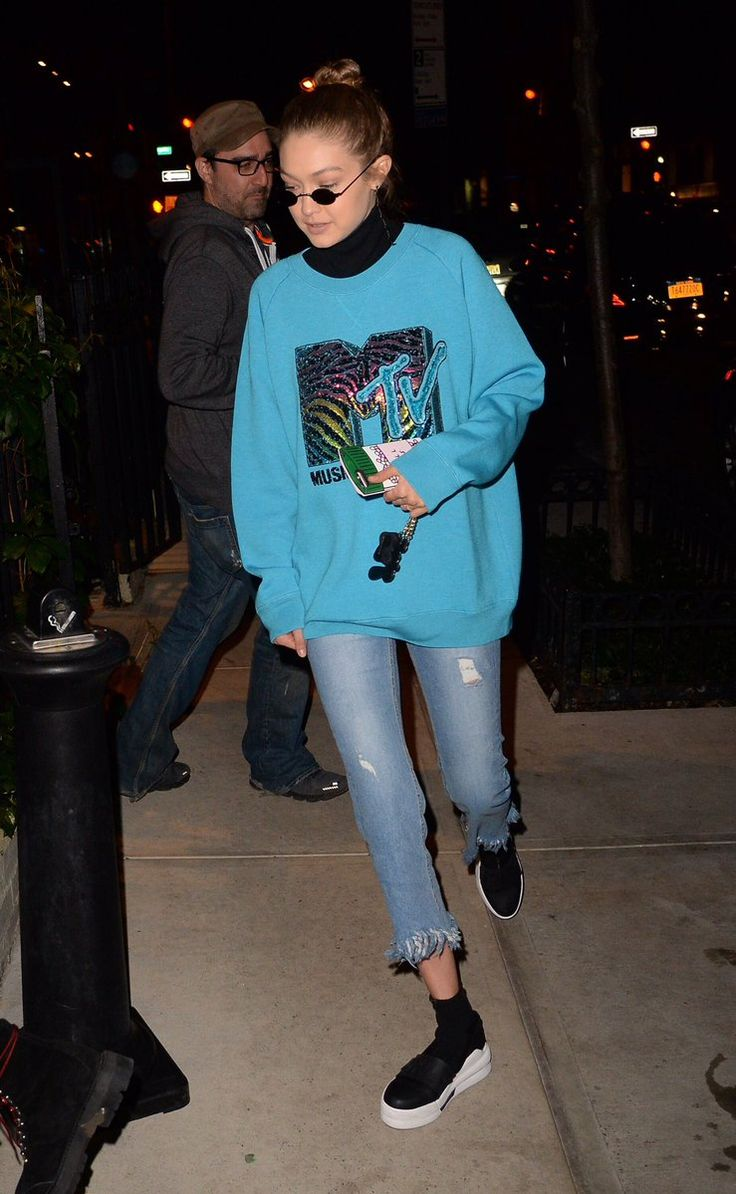 Gigi Hadid out in New York on May 3, 2017