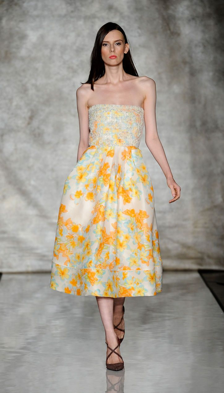 Shhh! The Prettiest Pieces at Fashion Week Were by Designers You Haven't Heard of (Yet Jorge Vega Umana Spring 2014