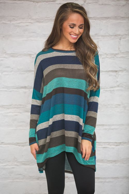 If you adore our Dreaming Of You Cardigan and our All Of My Heart Tunic, you're sure to fall for this beautiful tunic too!