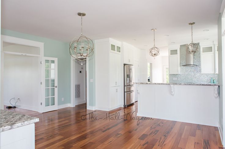 SW-0068 Copen Blue Walls. LOVE! Southern Living Eastover