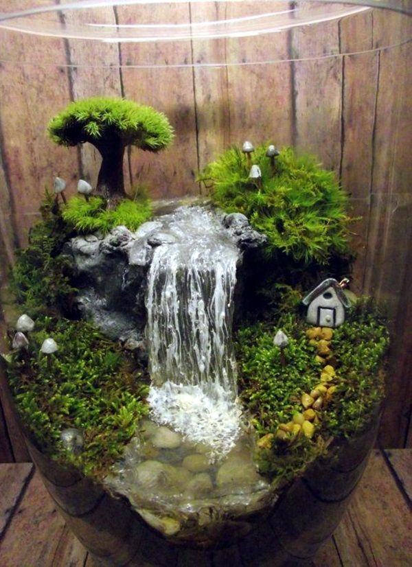 25 best ideas about indoor mini garden on pinterest for Indoor garden design