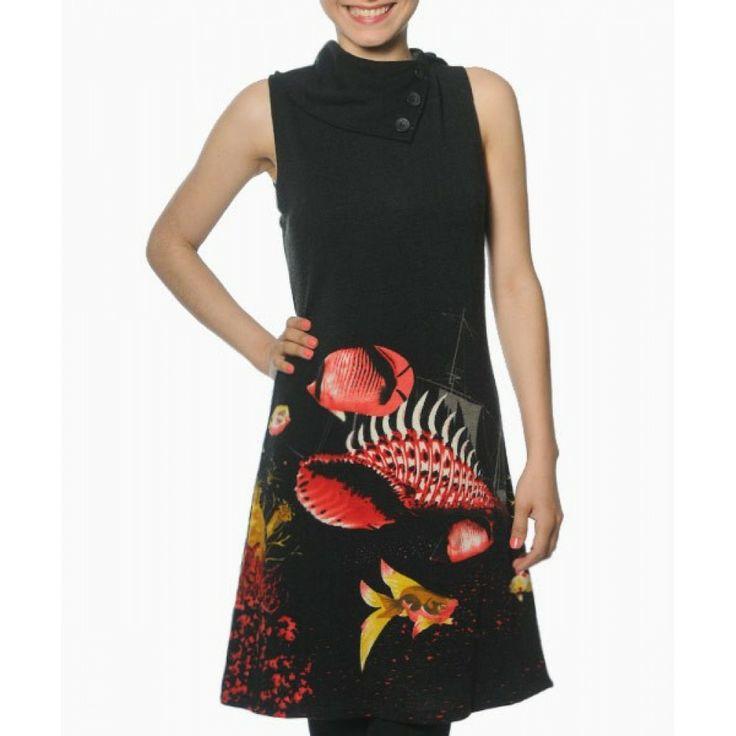 Black Graeme Smash Dress
