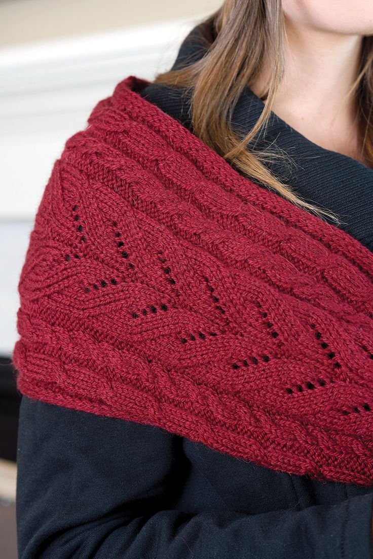 Ruched Cowl Knitting Pattern : The 71 best images about Knit Cowl Patterns on Pinterest Neck wrap, Quick k...