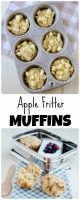 All the classic flavors of an apple fritter baked into a delicious muffin! Both Classic and Gluten Free recipes are included in the post.