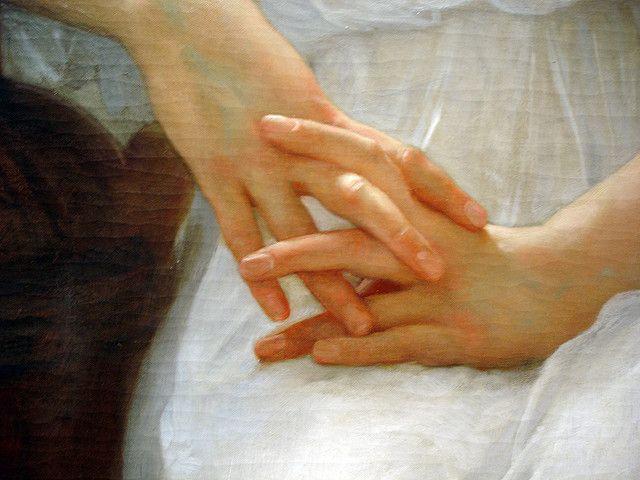Bouguereau - Detail of Hands