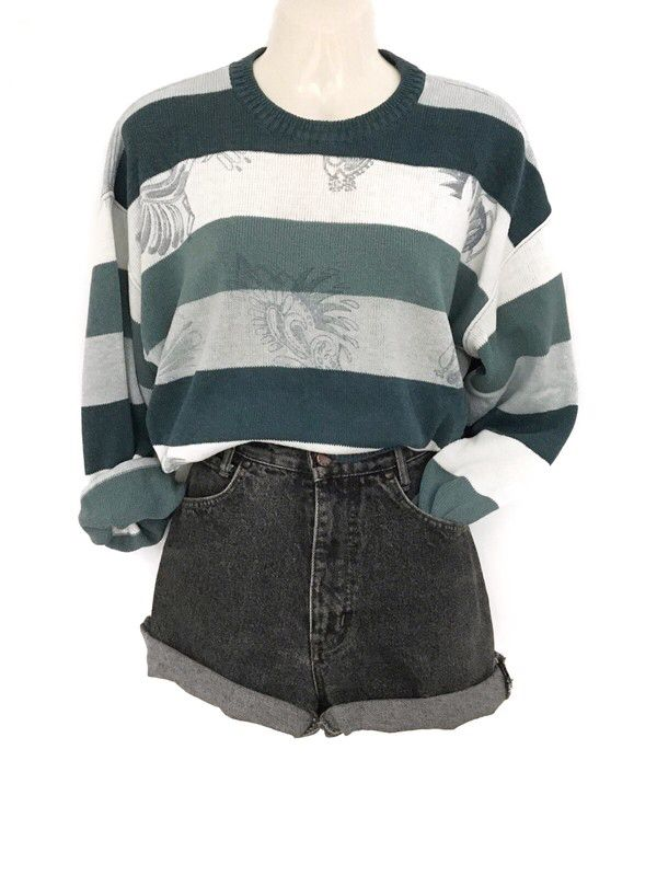 My True Vintage Stripe Pattern Sweater Oversize Urban Hipster Style Stripes Stripes from true vintage. Size one size for 39,00 €. Look …