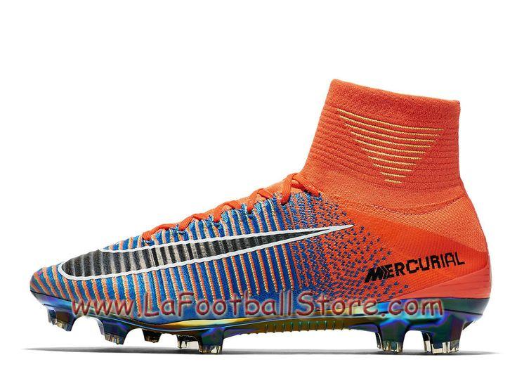 Nike Football X EA Sports Mercurial Superfly FG Cramoisi total ...