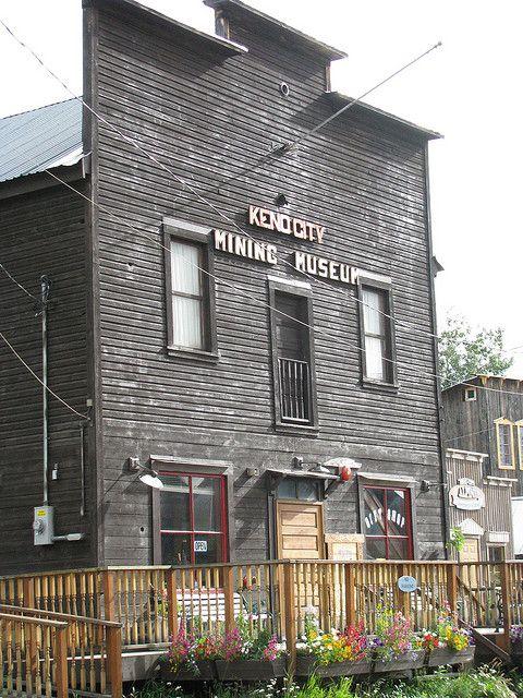 Mining Museum, Keno City, Yukon by Arthur Chapman, via Flickr