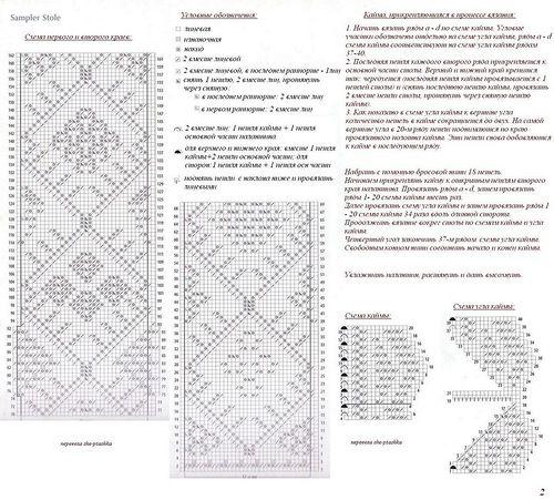 шетландское кружево схемы и описания: 23 тыс изображений найдено в Яндекс.Картинках