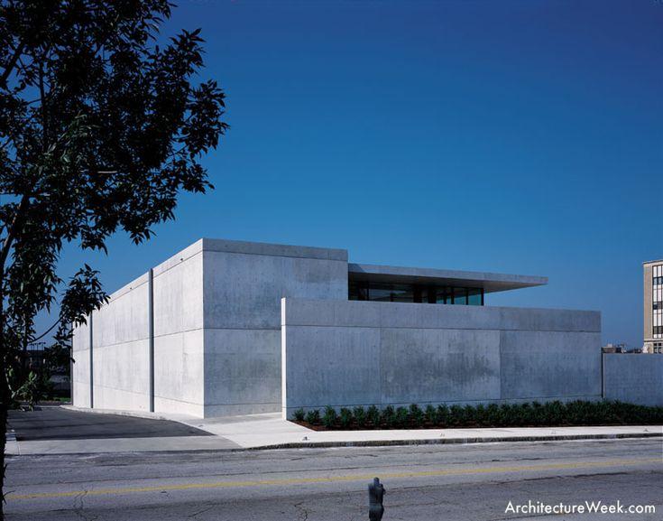 Tadao Ando Pulitzer Foundation Modern Art Museum. St. Louis