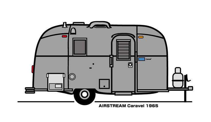 1965 Airstream Caravel 17'