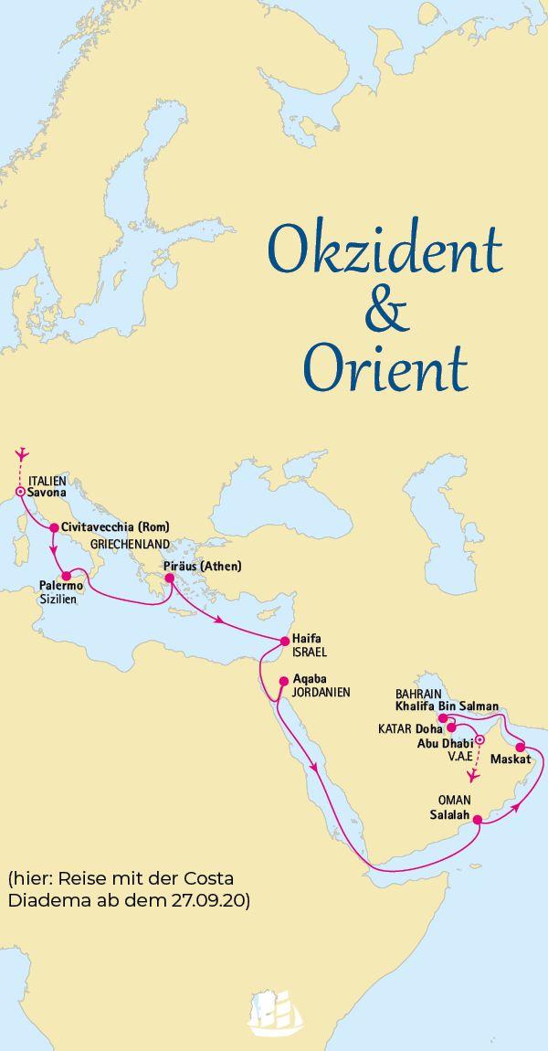 Orient Okzident Per Kreuzfahrtschiff Bereisen Kreuzfahrt Kreuzfahrtschiff Reisebilder