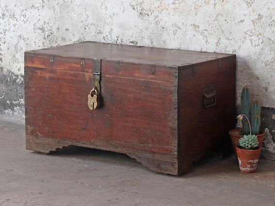 Old Wooden Chest Wooden Chest Wooden Trunks Wooden Toy Chest