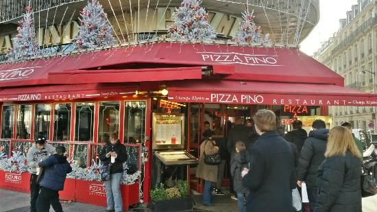 Pizza Pino Lunch