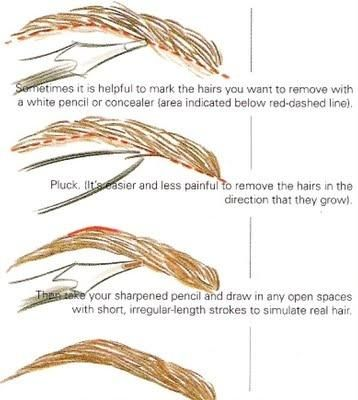 Use these tips to help style your eyebrows