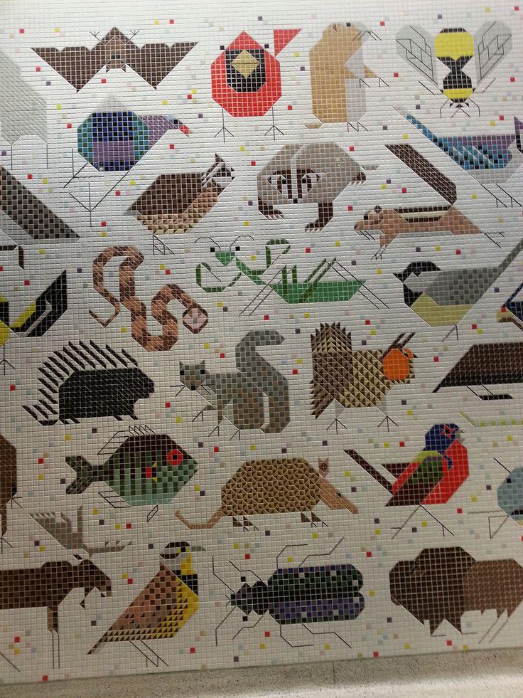 234 best charley harper images on pinterest charley for Charley harper mural