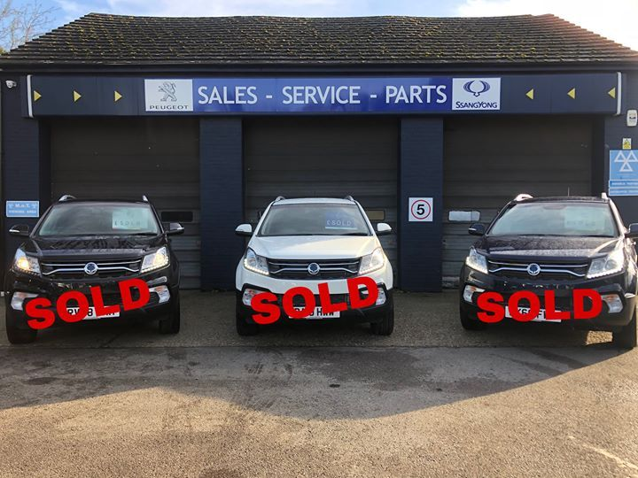 Its A Hat Trick Of Great Deals On These Three Korando S All Sold Here At Charters Reading This Week We Now Have Limited Stock Of These Towing Car Great Deals
