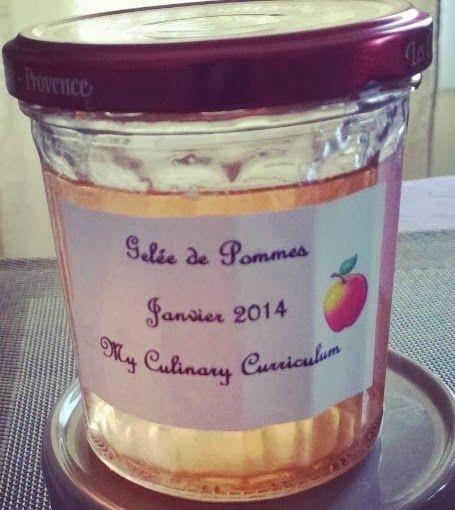 My Culinary Curriculum: Gelée de pommes (Apple jam)