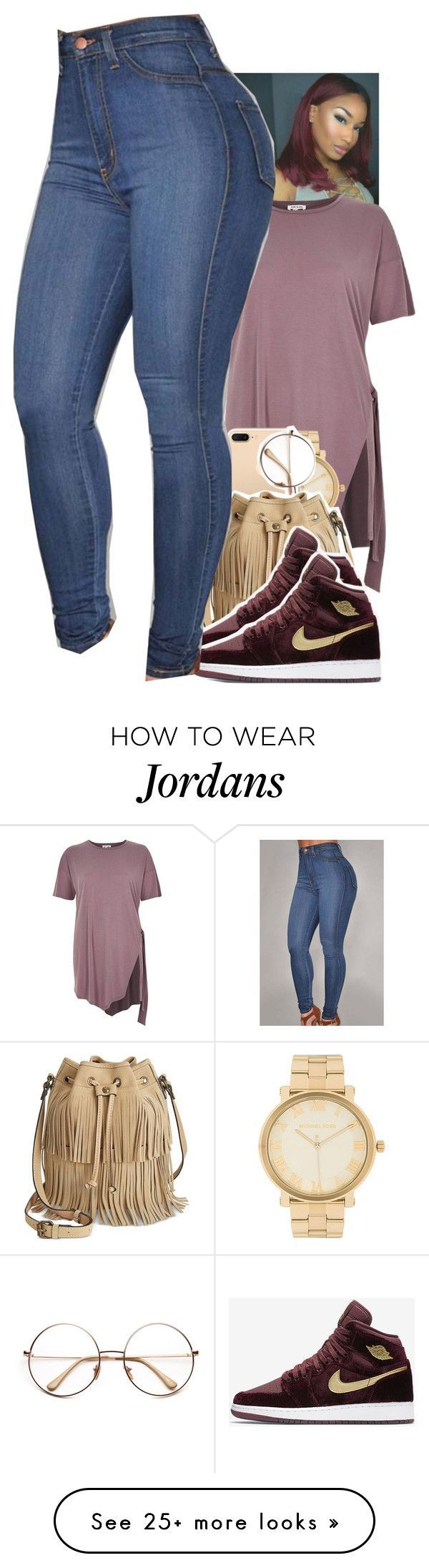 """Untitled #1886"" by toniiiiiiiiiiiiiii on Polyvore featuring River Island, Michael Kors, Patricia Nash and NIKE"