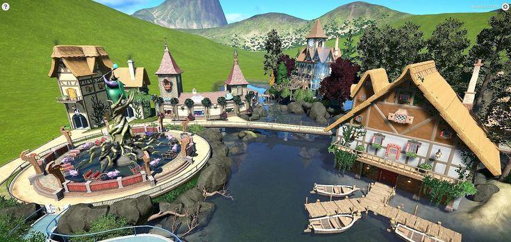 Image result for planet coaster fantasy entrance