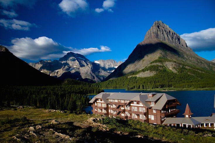National Park Lodges - Many Glacier Hotel