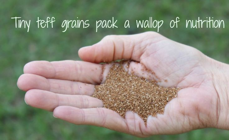 Teff is a tiny, gluten free, ancestral grain from Africa that packs a big punch when it comes to nutrition.