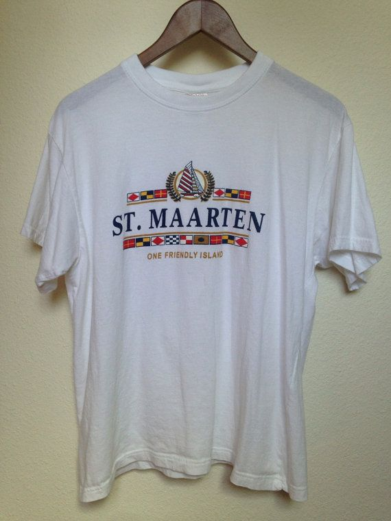 St. Maarten One Friendly Island soft thin by twinflamesboutique