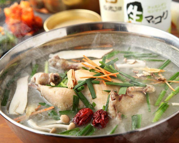 韓国本場料理 二階屋 #大久保 #ランチ #サムゲタン