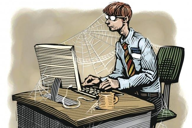 Job Exploitation: When you are the only one and you have to work without rest and sleep like Superman.