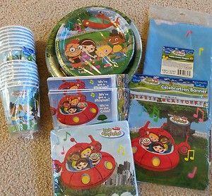 Dismey Little Einsteins Birthday Party Supplies Banner Plates