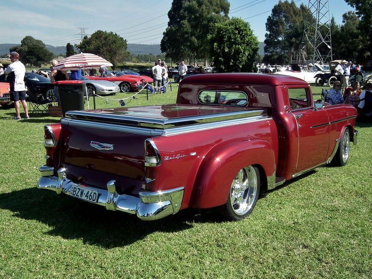 https://flic.kr/p/eg3wiD | 1955 Chevrolet Belair custom pickup | 1955 Chevrolet Belair custom pickup. Taken at the 2013 General Motors Display Day, held in the grounds of Penrith Panthers Club, Penrith NSW.