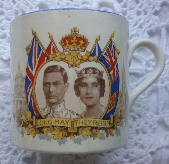 King George VI China Cup Royal Visit to Canada by jeanienineandme