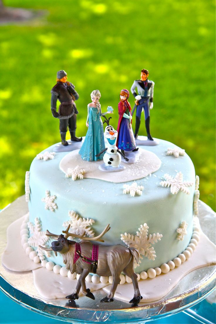 Frozen Birthday Cake Sunflower Cakes Pinterest Toys