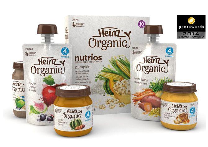 Heinz Organic Baby Food - Georgina Luck