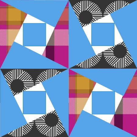 Antique Geometric quilt patterns from EarlyWomenMasters. Wow! What a plethora of resources and inspiration!