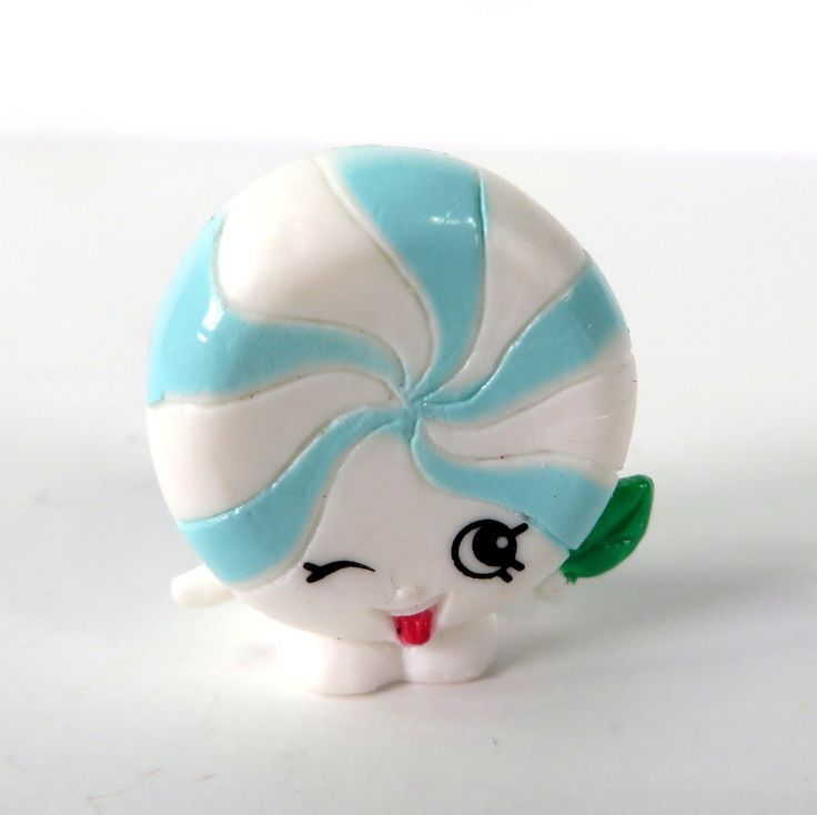NEW Shopkins Food Fair Moose Toys #FF-014 White Minnie Mintie
