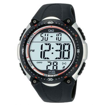 Digital jam tangan Q&Q M010J002Y pria