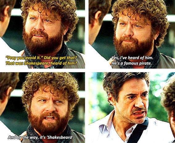 """Due Date"" (Zach Galifianakis and Robert Downey Jr.)"