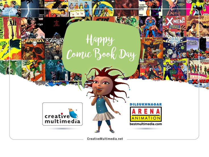 Wish you all a Happy '#ComicBookDay'!