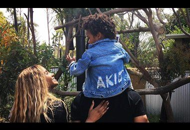 Ciara visits the zoo with husband Russell Wilson and son Future Zahir